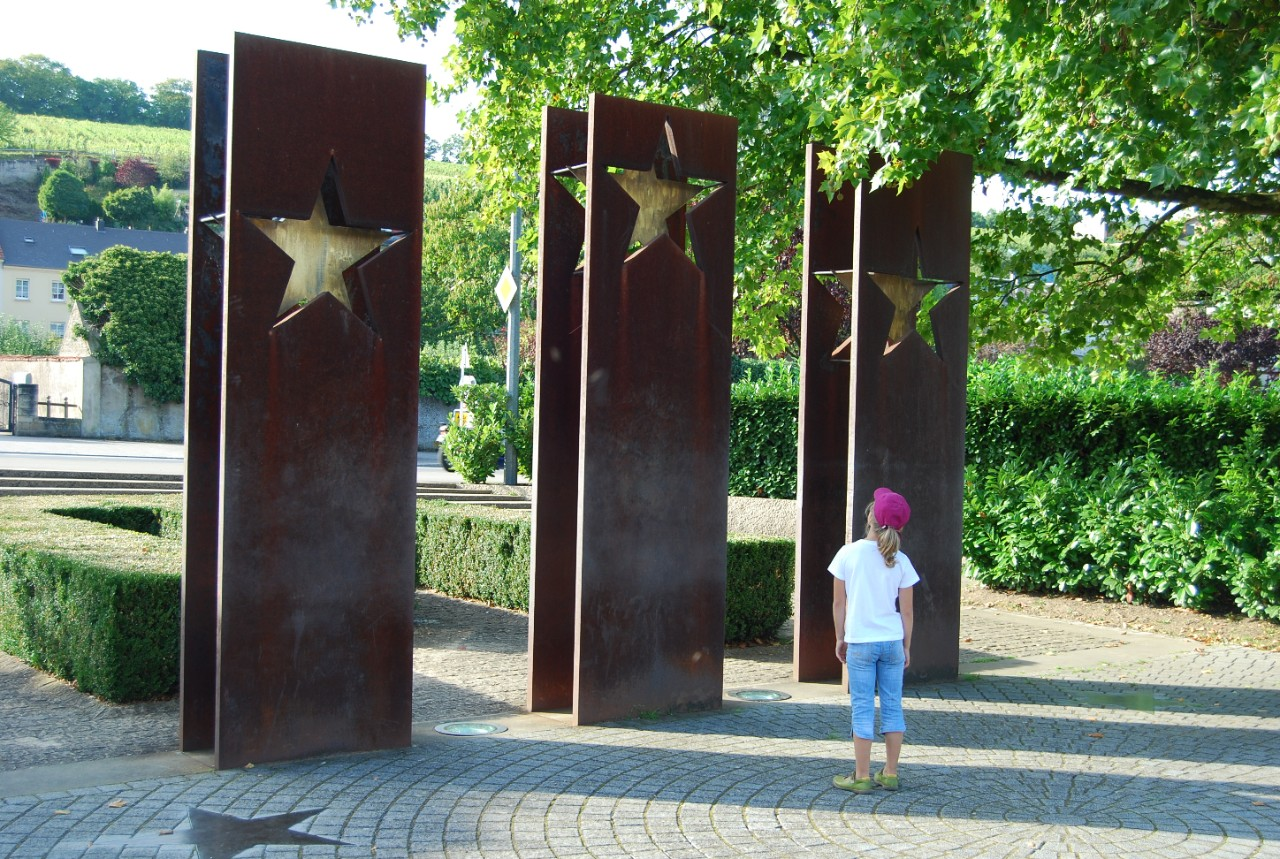 "Monument Esplanade ""Accords de Schengen"""