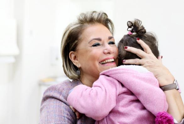 HRH the Grand Duchess Maria Teresa is the president of the executive board of the Foundation.